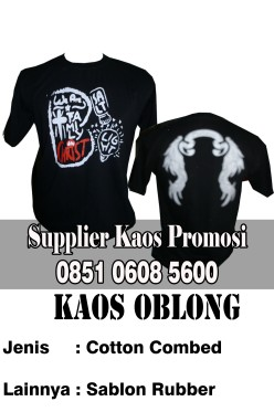supplier kaos promosi sablon