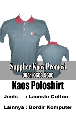 Jasa Konveksii Kaos Polo Promosi Surabaya